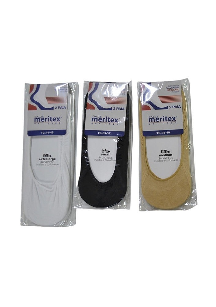 2 SALVAPIEDE INVISIBILE MERITEX 654